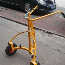 深圳手推机械式油桶搬运车