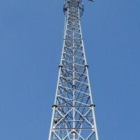通讯塔 钢管风阻小,钢性好,节约材料,且造型美观