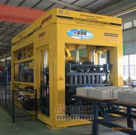 秸秆纤维水泥砖机 秸秆混凝土制砖机 恒兴机械压砖机