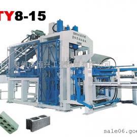 郑州水泥空心砖机全套设备价格 带码垛机的空心砖机
