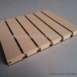 防火木质槽孔吸音板厂家