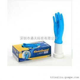 劲卫蓝色丁腈手套G10,57372-M丁腈手套