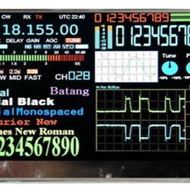 3.2寸串口TFT液晶模组/工业串口屏/TFT LCD控制器