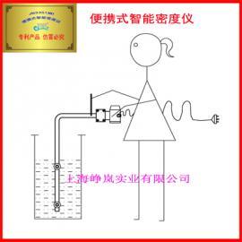 JN便�y式智能密度�x220V液�w在�密度�x便�y式比重�