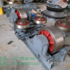 福建1.8x18米煤泥烘干机托轮挡轮大小齿圈