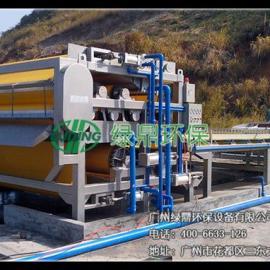 绿鼎环保专业生产废白土压榨机