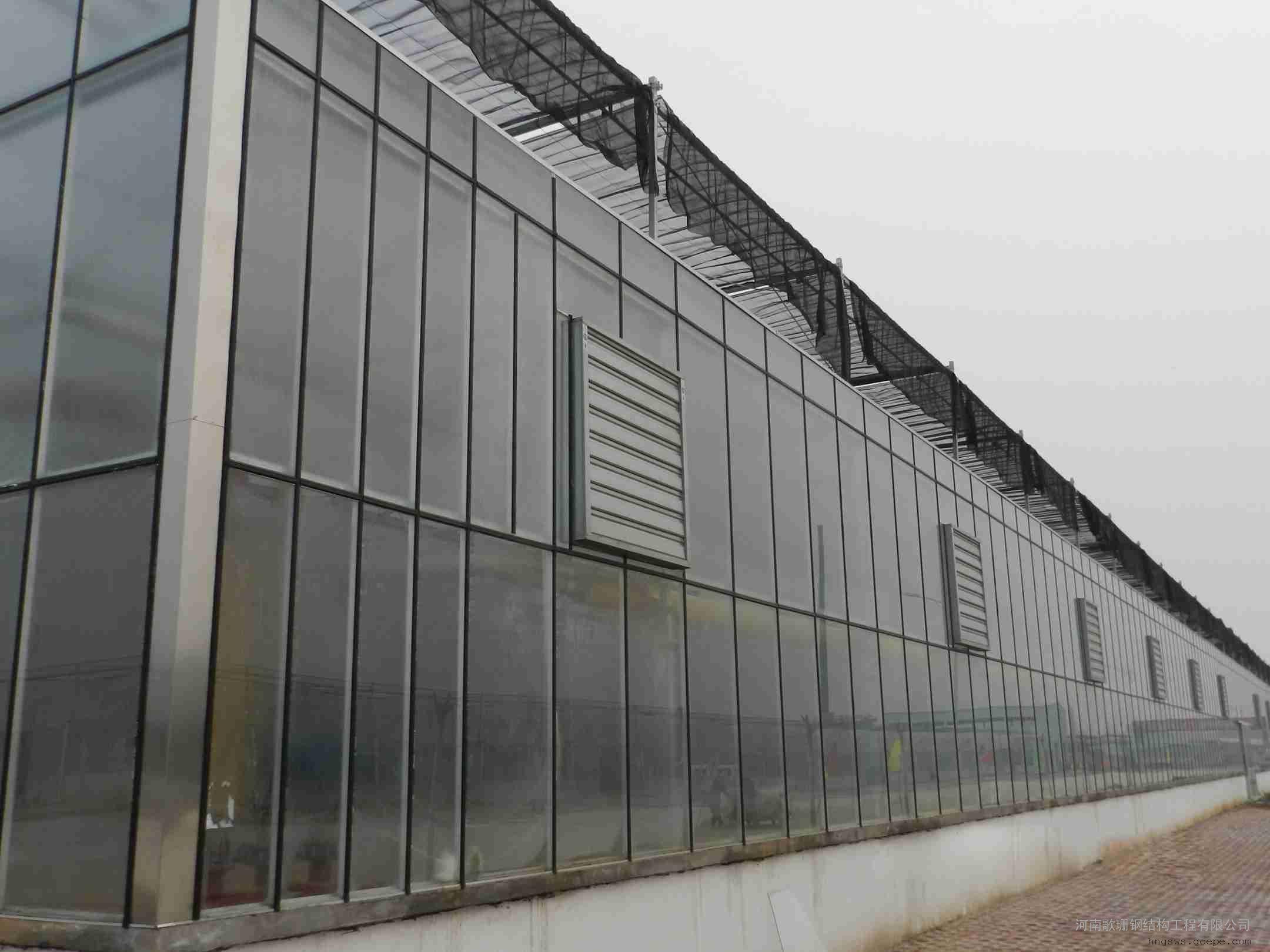 连栋薄膜温室玻璃温室/阳光板温室***好设计安装公司