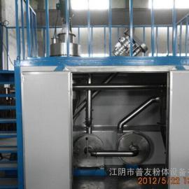 畅销冷冻式色母粒粉碎机 塑料橡胶原料液氮磨粉机