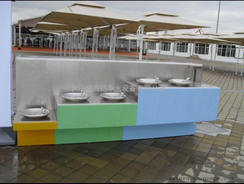 户外公共饮水台图片
