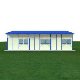 活动板房,K式活动板房,单坡双层活动板房67.81平方米