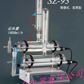 上海亚荣自动纯水蒸馏器、双重纯水蒸馏器