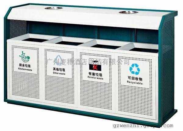 广州商场地铁分类垃圾桶找p-p193商场不锈钢分类垃圾
