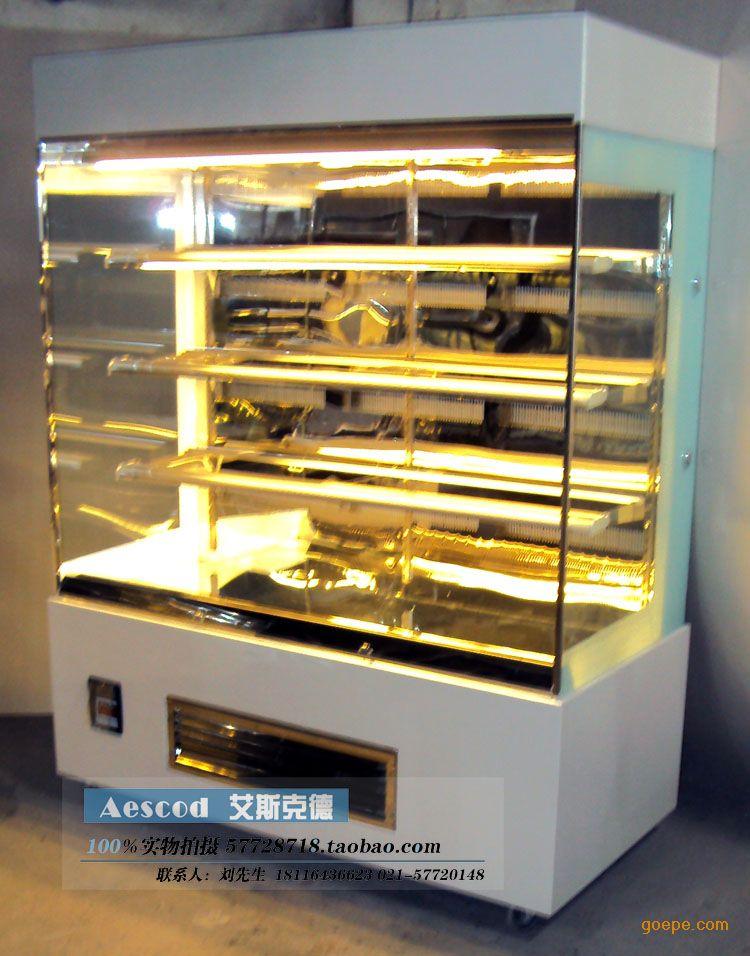 蛋糕柜立式敞开式展示柜 熟食展示柜水果柜
