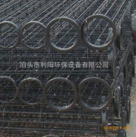 供应利阳环保φ155X6000喷塑除尘骨架坚固耐用不掉漆