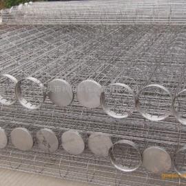 洛阳除尘袋笼304不锈钢骨架 带文氏管除尘器笼骨价格优惠
