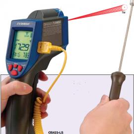 OS423-LS经济型可配热电偶探头非接触式红外测温仪