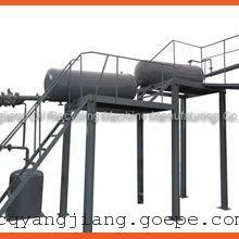 废引擎油炼制柴油设备