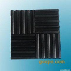 重庆KXT-D方形橡胶隔振垫