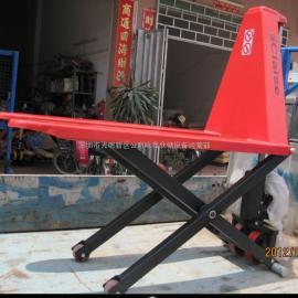 载重1T的深圳剪叉式升高搬运车