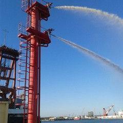 厂家供应明悦高空消防炮塔TP30双平台消防炮塔