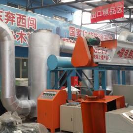 大型木炭生产全自动流水线设备生产线/出口环保木炭机设备