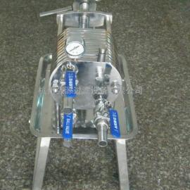 (厂家直供)全自动耐腐蚀箱式压滤机不锈钢板框压滤机