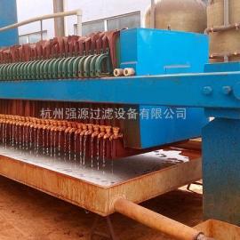 杭州强源牌40平方压滤机-污水处理用箱式压滤机