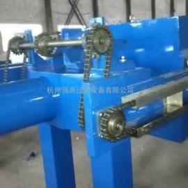 杭州强源牌250平方全自动压滤机-污水处理用压滤机;隔膜压滤机