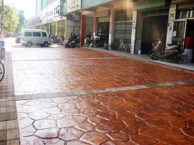 供应广西地区市政景观路面工程-----压模地坪