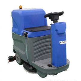 朗威迷你驾驶型洗地机