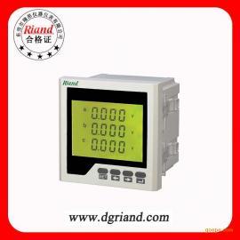 Riand/瑞昂三相数显表96*96 三相电压液晶显示