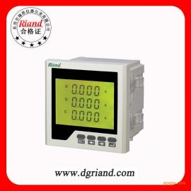 Riand/瑞昂三相数显表96*96三相电流表液晶显示
