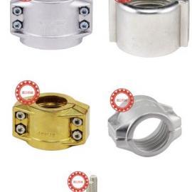 铝合金两片式DIN2817管夹管卡