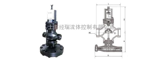 yd13h型(dp17)先导式超大膜片高灵敏度减压阀