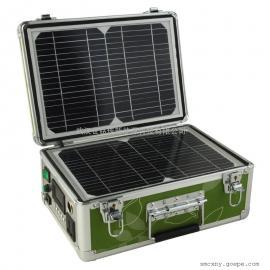 30W手提式太阳能发电供电系统便携式太阳能发电系统