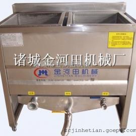 金河田电加热小型双筐油炸机