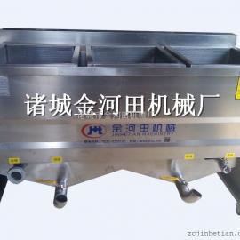 JHT1500电加热手动出料油炸机