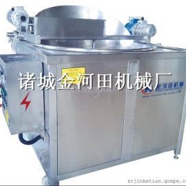1200型电加热自动搅拌出料油炸机