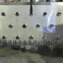 发酵区接管板 过滤接管板 糖化区接管板