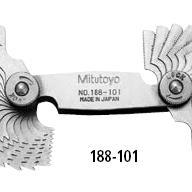 三丰螺距规套装188-102