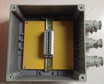 供应产品 其它环保设备 消防设备 防爆器材 >> 定做增安型防爆接线箱