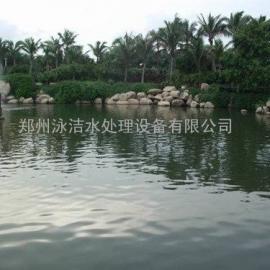 景观湖景观河水处理工程承接 景观水循环利用净化设备