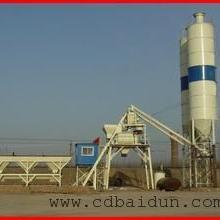 北京乡镇HZS25白灰拌和站