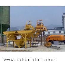 北京HZS50白灰拌和站价格/拌和站配置/白灰拌和机