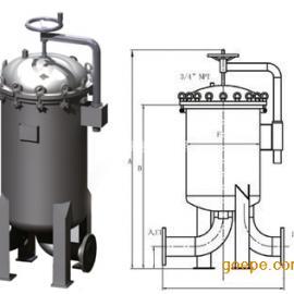 生物发酵液多袋式过滤器、防腐大流量多袋式过滤器