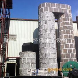 高效脱硫麻石除尘器 锅炉除尘器 三塔双室脱硫除尘器