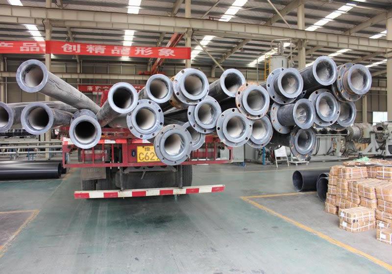 尾矿管道,耐磨管道,超高分子量聚乙烯管