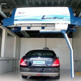 镭豹360洗车机六大洗车功能之一,智能旋转手臂28秒冲洗全车