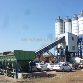 四川HZS60混凝土搅拌站价格/混凝土搅拌机价格/混凝土搅拌站配置