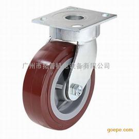 供应科顺抗冲击型4-6108-929高科技聚氨酯底板型脚轮